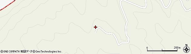 大分県津久見市八戸2111周辺の地図
