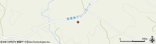大分県竹田市久住町大字久住1560周辺の地図
