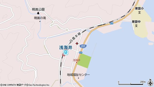 大分県佐伯市上浦大字浅海井浦373周辺の地図