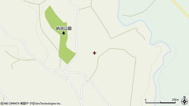 大分県竹田市久住町大字久住806周辺の地図