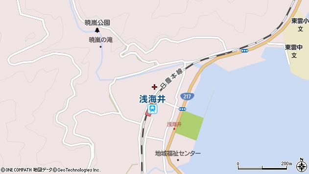 大分県佐伯市上浦大字浅海井浦300周辺の地図