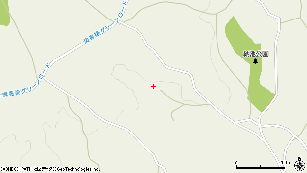 大分県竹田市久住町大字久住1465周辺の地図
