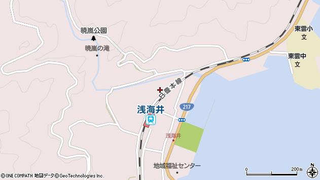 大分県佐伯市上浦大字浅海井浦357周辺の地図