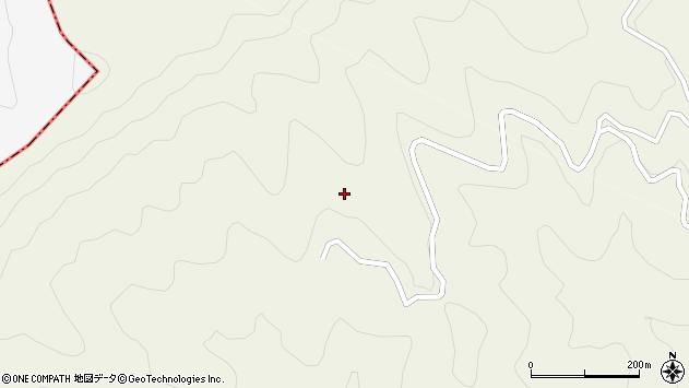 大分県津久見市八戸大村周辺の地図