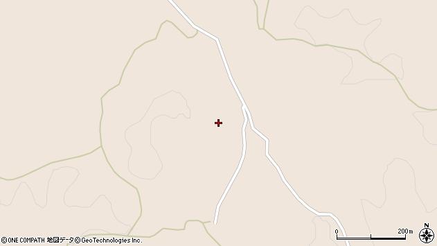 大分県竹田市直入町大字長湯1213周辺の地図