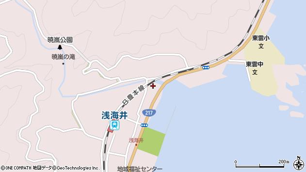 大分県佐伯市上浦大字浅海井浦339周辺の地図