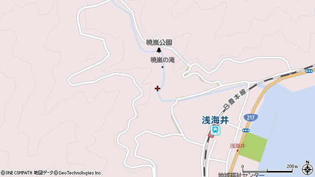 大分県佐伯市上浦大字浅海井浦688周辺の地図