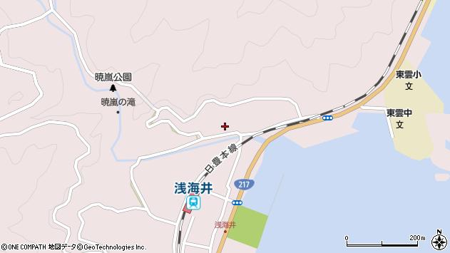 大分県佐伯市上浦大字浅海井浦226周辺の地図
