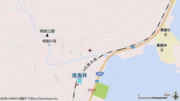 大分県佐伯市上浦大字浅海井浦230周辺の地図