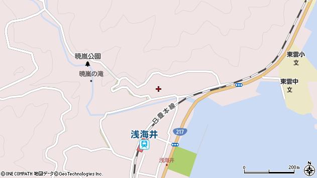 大分県佐伯市上浦大字浅海井浦234周辺の地図