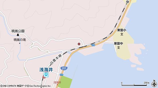 大分県佐伯市上浦大字浅海井浦139周辺の地図