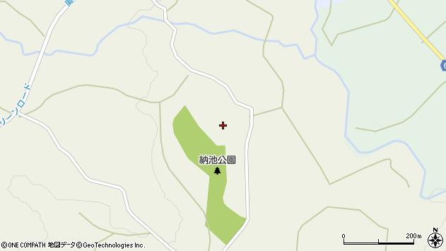 大分県竹田市久住町大字久住957周辺の地図