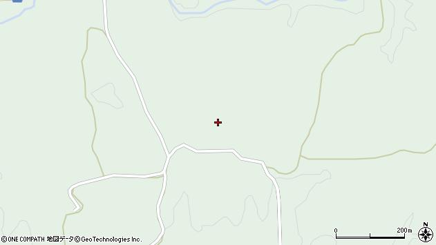 大分県竹田市久住町大字栢木1834周辺の地図