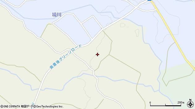 大分県竹田市久住町大字久住1105周辺の地図