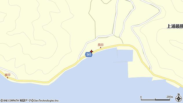 大分県佐伯市上浦大字最勝海浦3756周辺の地図