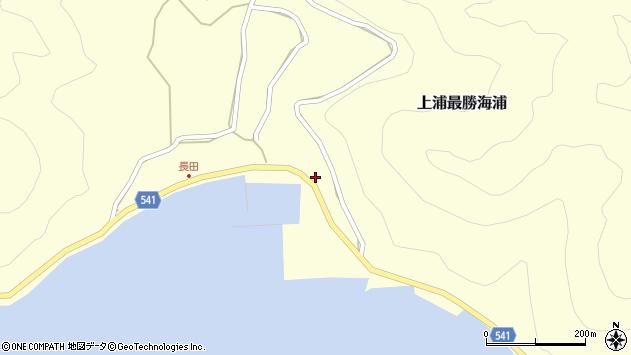 大分県佐伯市上浦大字最勝海浦3623周辺の地図
