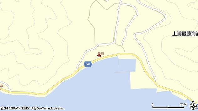 大分県佐伯市上浦大字最勝海浦3725周辺の地図