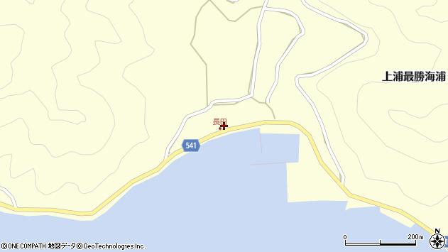 大分県佐伯市上浦大字最勝海浦3714周辺の地図