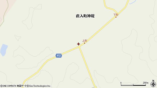 大分県竹田市直入町大字神堤902周辺の地図