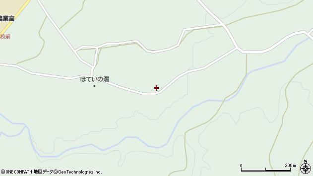 大分県竹田市久住町大字栢木5732周辺の地図