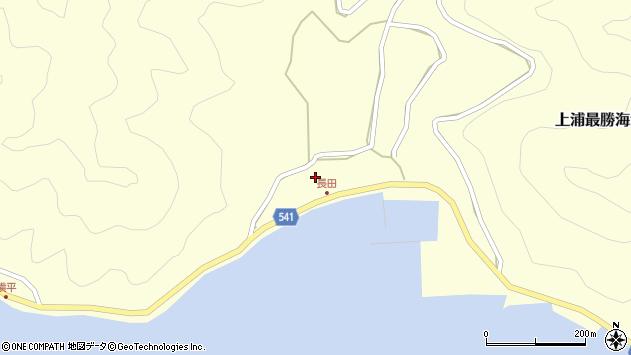 大分県佐伯市上浦大字最勝海浦3721周辺の地図