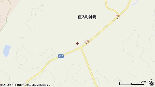 大分県竹田市直入町大字神堤895周辺の地図