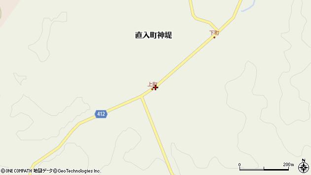大分県竹田市直入町大字神堤17周辺の地図