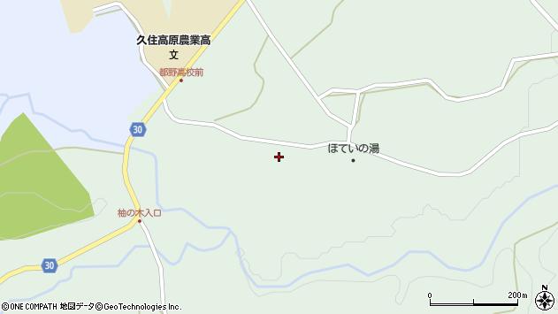 大分県竹田市久住町大字栢木5577周辺の地図