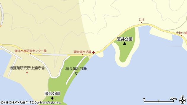 大分県佐伯市上浦大字津井浦2周辺の地図