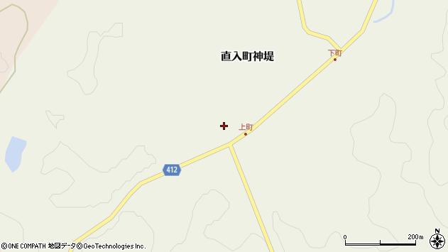 大分県竹田市直入町大字神堤897周辺の地図