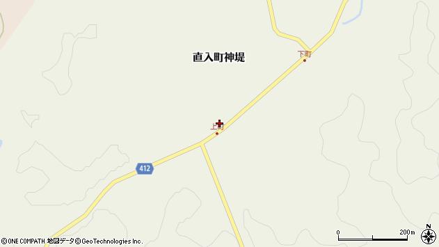 大分県竹田市直入町大字神堤913周辺の地図