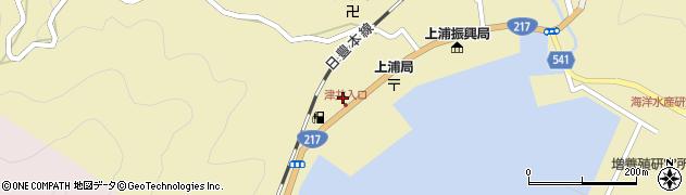 大分県佐伯市上浦大字津井浦2147周辺の地図