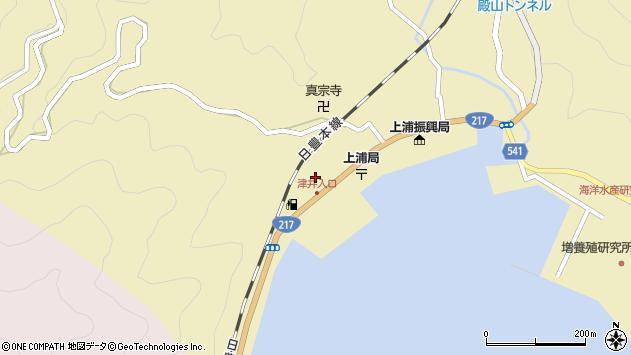大分県佐伯市上浦大字津井浦2145周辺の地図