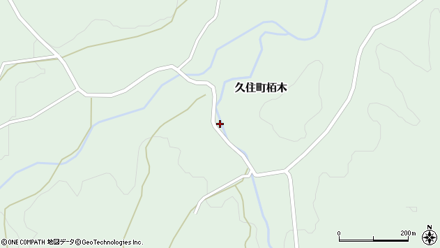 大分県竹田市久住町大字栢木5407周辺の地図