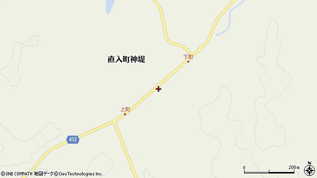 大分県竹田市直入町大字神堤45周辺の地図