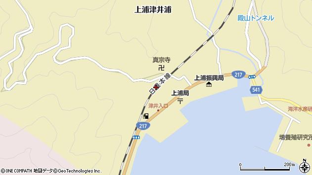 大分県佐伯市上浦大字津井浦2096周辺の地図