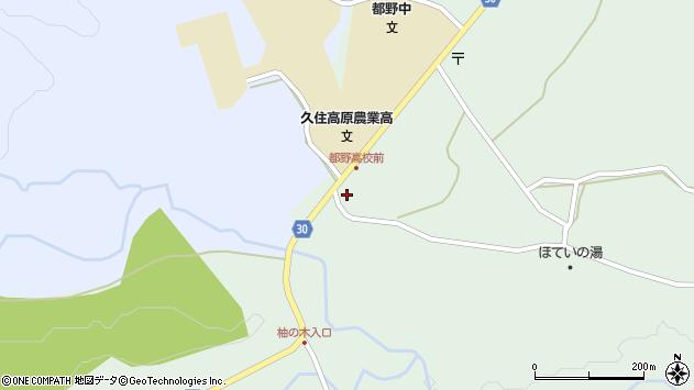 大分県竹田市久住町大字栢木5794周辺の地図