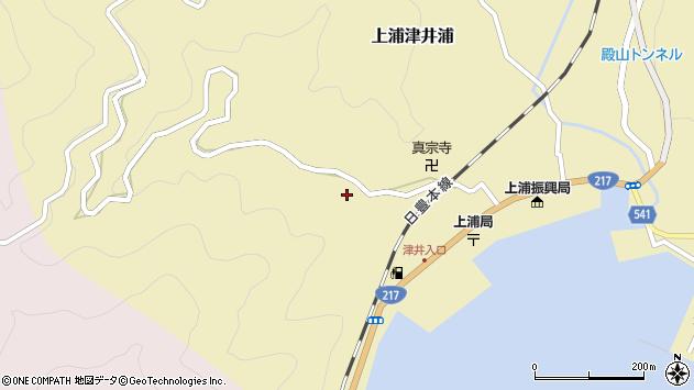大分県佐伯市上浦大字津井浦2035周辺の地図