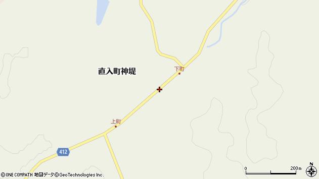 大分県竹田市直入町大字神堤54周辺の地図