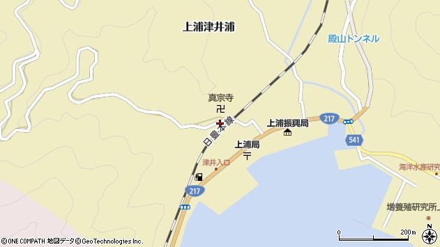 大分県佐伯市上浦大字津井浦2111周辺の地図