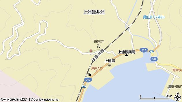 大分県佐伯市上浦大字津井浦2000周辺の地図