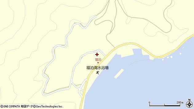 大分県佐伯市上浦大字最勝海浦周辺の地図