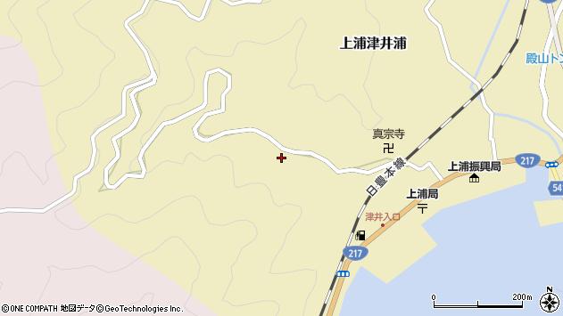 大分県佐伯市上浦大字津井浦1937周辺の地図