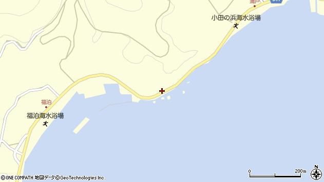 大分県佐伯市上浦大字最勝海浦1615周辺の地図