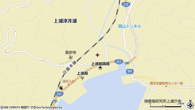 大分県佐伯市上浦大字津井浦1339周辺の地図