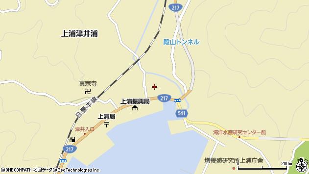 大分県佐伯市上浦大字津井浦1351周辺の地図