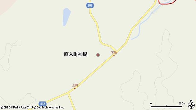 大分県竹田市直入町大字神堤942周辺の地図
