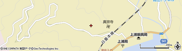 大分県佐伯市上浦大字津井浦1500周辺の地図