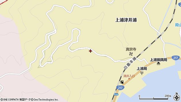 大分県佐伯市上浦大字津井浦1934周辺の地図