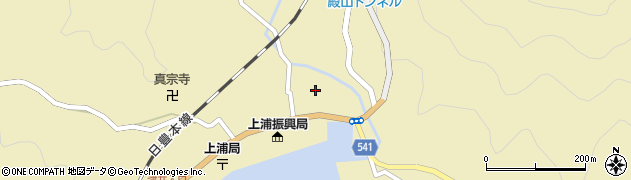 大分県佐伯市上浦大字津井浦1355周辺の地図